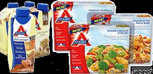 Компания учреждённая доктором Аткинсом производит продукты и пищевые добавки для системы питания по Аткинсу
